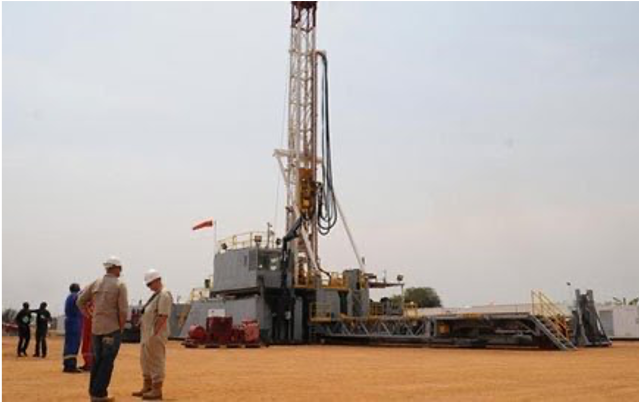 An oil mining field in Hoima District (Daily monitor, 2020)
